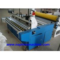 China Laminated Small Toilet Paper Making Machine 1200mm With Plc Programming Control on sale