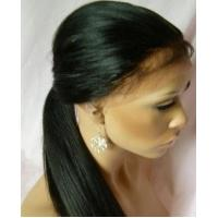Quality Unprocessed Virgin Human Hair Front Lace Wigs With Baby Hair Around,12 Inch - 28 Inch wholesale