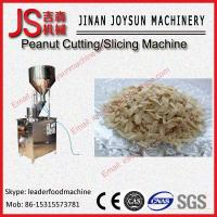 Quality 1.5kw Full Automatic Walnut Kernel Piece Cutter Thickness Adjustable wholesale