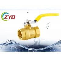 China Hot Forging Brass Ball Valves For Water Male Thread Iron Level Handle on sale