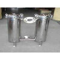 Quality 100 Micron Duplex Bag Filter Vessels For Lubricant , 150 PSI High Pressure wholesale