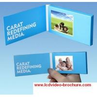 Quality 4.3 inch video greeting card / Trade show invitation LCD digital advertising electronic brochure wholesale