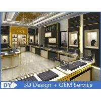 Stainless Steel Jewelry Showcase / Jewelry Wall Display Cases