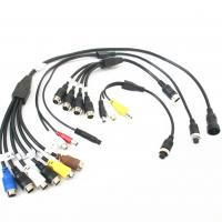 Quality Customized Male To Female Backup Camera Extension Cable ROHS / CCC wholesale