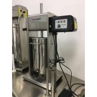 Buy cheap Vertical Motorized Electric Sausage Stuffer Machine Commercial Industrial 30LB Capacity from wholesalers