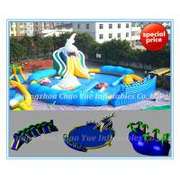 Quality Inflatable Water Park Equipment for Sale Shark Water Park (CY-M2143) wholesale
