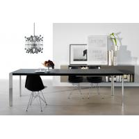 Quality Dining Room Extendable Wooden Table , Folding Trim Rectangle Dining Table wholesale