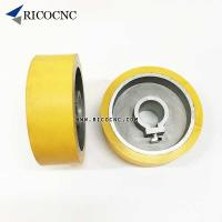 Quality Rubber Feeder Roller Wheels for Weinig SCM Woodworking Planer Moulders wholesale