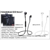 Quality CSR 4.0 Wireless Music Stereo Bluetooth Headset / Earphones with microphone wholesale