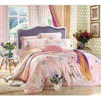 Quality Embroidery Reactive Printed Home Bedding Sets , Home Bedding Comforter Sets wholesale