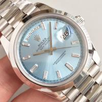 Buy cheap Wholesale 2016 Rolex Day-Date 228239 40mm Automatic 3255 Sky Dial Diamonds Marks Smooth Bezel Watch from wholesalers