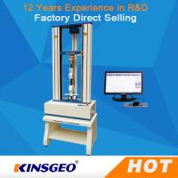 Quality 0.5~1000mm/min Speed Ball Screw Universal Testing Machines For Metal / Plastic / Rubber wholesale