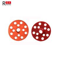 China Red Thermal Insulating Foam Board Washers , Plastic Washers For Nails 50mm 60mm on sale