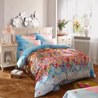 Quality 100 Percentage Cotton Fabric Home Bedroom Bedding Sets Most Comfortable wholesale