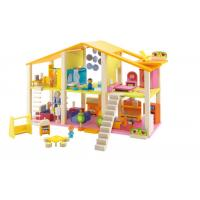 Quality High quality diy wooden play doll house,solid wood dollhouse,wooden doll house furniture wholesale