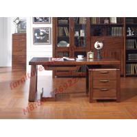 Quality Solid Wood Antique Design Furniture Desk with Drawers in Home Study Room use wholesale
