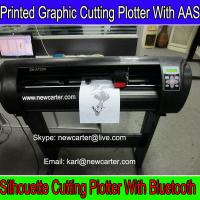 China Automatic Contour Cutter Plotter Printed Label Cutting Machine Smart Vinyl Sign Cutter 24 on sale