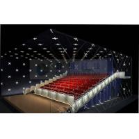 Quality Popular Theme park 3D cinema system , 4D 5D cinema movie theaters with real leather motion chairs wholesale