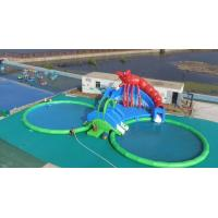 Quality Customized Multi Function Kids Water Slide , Big Inflatable Water Park wholesale