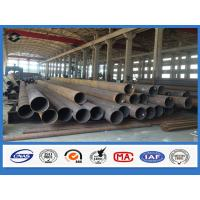 Round Conical Column Automatic Welding Galvanized Electric Steel Pole