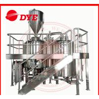 Quality DYE Micro Beer Brewing Equipment , Stainless Steel Brew Kettle CE wholesale