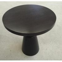 Quality Small Hotel Wooden Dining Room Tables , Wood Top Round Breakfast Table wholesale