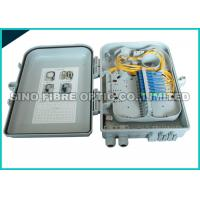 Quality ABS Plastic White Fiber Optic Distribution Unit 2 Cores FTTH Assemblied wholesale