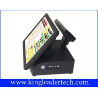 Quality All In One Red POS / Cash Register Touch Terminal For Dining And Pizzeria wholesale
