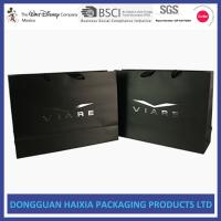 Quality Luxury Colored Paper Bags , Paper Shopping Bags With Handles Free Sample wholesale