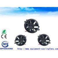 Super Mini Round IP57 DC Axial Fans / Laptop Cooling Fans High Speed Heat Resiatant