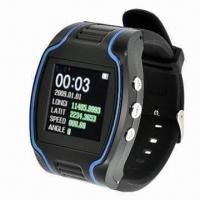 China Personal GPS watch tracker with voice monitor, supports electronic fence function on sale