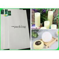 Quality 80gsm PE Coated White Copy Paper Oilproof For Packing Of Candles And Soaps wholesale