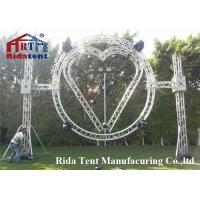 Buy cheap Spigot Booth Aluminum Dj Truss , Rotating Alminum Stage Truss Trolley from wholesalers