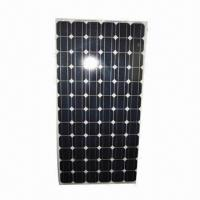 China 165W Monocrystalline Silicon Solar Panels/Module with CE Certificate on sale