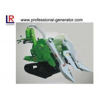 Quality 10HP Mini Combine Rice Agriculture Harvester with 178F Diesel Engine , Gear Drive Type wholesale
