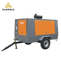 China Automatic Control Portable Rotary Screw Air Compressor Video Technical Support on sale
