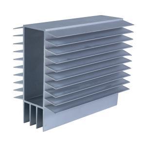 China Chemical Polishing 6063 T8 Aluminum Heat Sink Extrusion on sale
