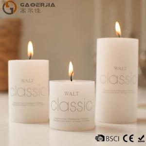 Quality Wax Flameless Electronic White Burning Candle / LED Candle Light wholesale