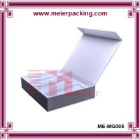 Quality Recycle paper small wine bottle box/Magnet paper wine packaging box ME-MG005 wholesale
