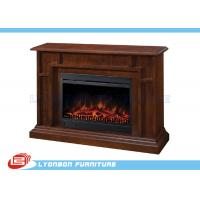 Buy cheap Living Room Home Solid Wood Veneer Decorating Fireplace / 1140mm * 330mm * 895mm product