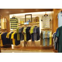 Quality Adult Men Apparel Store Display Cases Wood Plus Grained Veneer Material wholesale
