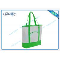 Quality 100% recycled pp non woven  handle shopper shopping bag for carbage wholesale
