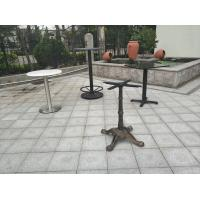 China Outdoor  Dining Table Bases Waterproof Modern Table Leg Metal Tube Table legs on sale
