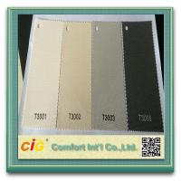 China Polyester PVC Home Textile Fabric , Roller Blind Sun Screen Fabric on sale
