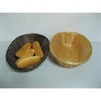 Quality Stackable Synthetic Poly Rattan Bread Basket JIS Approve With Restaurant wholesale