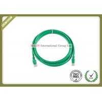 China AT6 UTP Network Patch Cord  Rj45 Patch Cable Plug And Play Customerized Length on sale