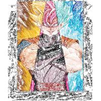 Quality LED Frame 30*40cm 3D Anime Poster For Home Decoration wholesale