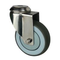 Quality stainless steel casters with screw hole wholesale