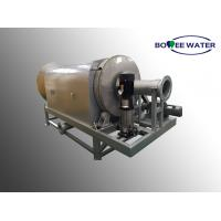 China Textile Plant Rotary Drum Screen , Screening In Sewage Treatment Internal Feed on sale