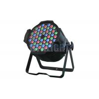 China 54 Pcs 3 Watt RGB LED Stage Light For Rental 16 Bit Smooth Dimmer on sale